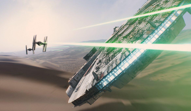 Scena iz filma Star Wars: The Force Awakens.