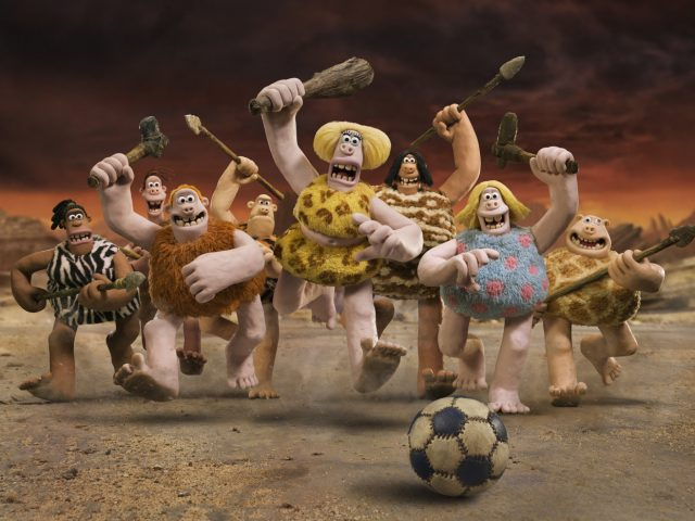 Scena iz animiranega filma Jamski človek (Early Man)