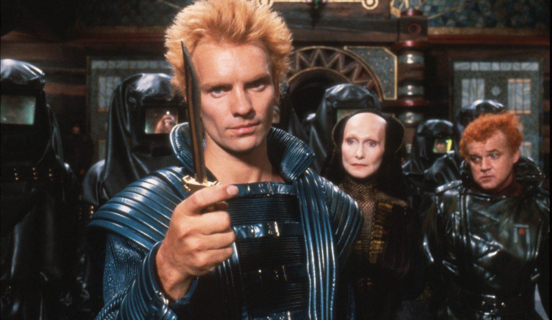 Sting kot Feyd v filmu Dune Peščeni planet