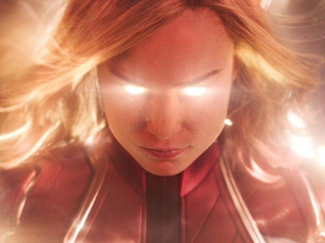 Brie Larson kot Stotnica Marvel (Captain Marvel)